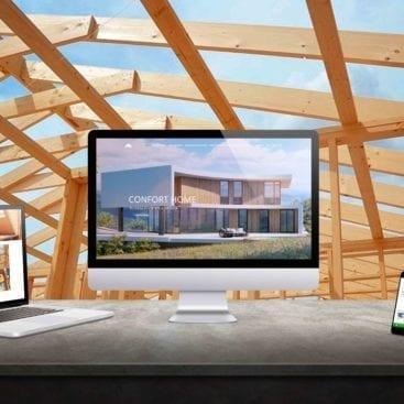 diseño web bilbao confort home